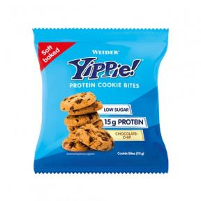 Mini Cookies de Proteína Weider Yippie! sabor Chips de chocolate 50g