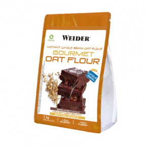 Harina de Avena integeal instantánea Weider sabor Brownie 1Kg