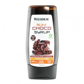 Sirope de Chocolate Slim Syrup de Weider 350g