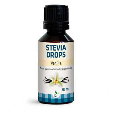 Adoçante Sabor Baunilha Stevia Drops de Sukrin 30ml