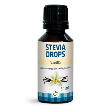 Edulcorante Stevia Drops de Sukrin Sabor Vainilla 30ml