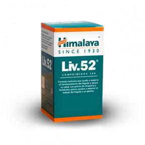Complemento alimenticio Liv-52 Himalaya 100 comprimidos