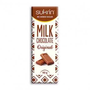 Sukrin Chocolat au Lait 40g