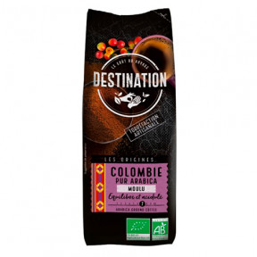 Café Moulu Colombie 100% Arabica Bio Destination 250g
