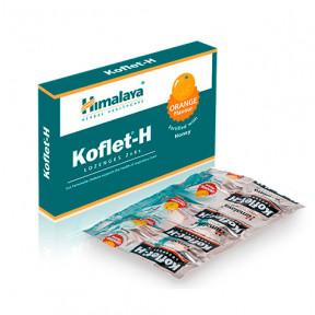 Koflet-H Himalaya orange sore throat lozenges 12(2x6)