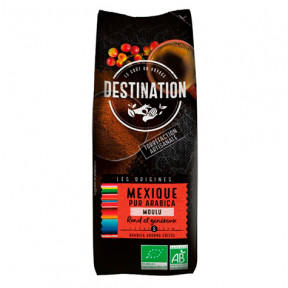 Café Moulu Mexique Chiapas 100% Arabica Bio Destination 250g