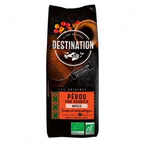 Café Moulu Pérou 100% Arabica Bio Destination 250g