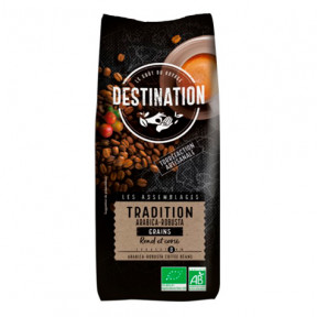 Tradition Ground Organic Coffee Arabica Robusta Destination 250 g