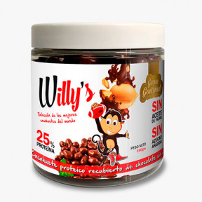 Cacahuetes Willy's con Chocolate Protella 190 g