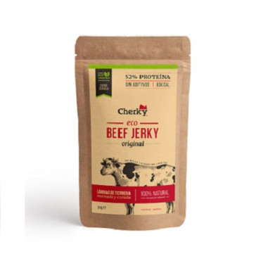 Beef Jerky Original Viande Salée Biologique Cherky 30g