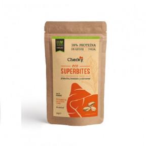 Superbites Snack Crujiente de Cerdo Ecológico con Frutos Secos Cherky 30g
