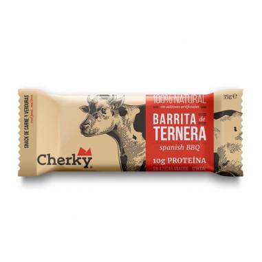 Barrita de Ternera Ecológica Spanish BBQ Cherky 35g