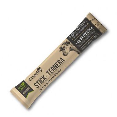 Snack de Veau Bio à l'ail noir et au Shiitake Cherky 25g
