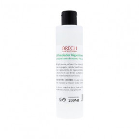 Brech laboratories hand sanitizing cleansing gel 200ml
