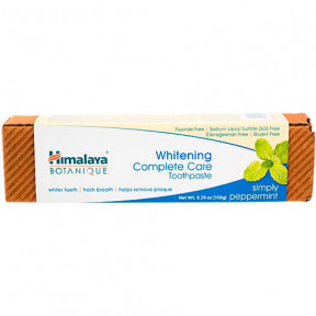 Himalaya Herbals Botanique Whitening Complete Care Toothpaste 150g