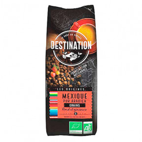 Grains de Café Bio Mexique Chiapas 100% Arabica Destination 250g