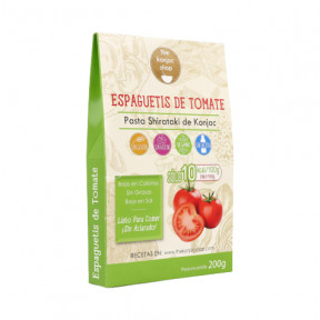 Konjac Tomato spaghetti The Konjac Shop 200g