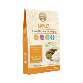 Arroz Konjac The Konjac Shop 200g