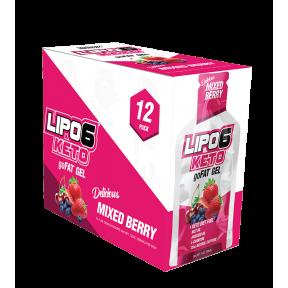 Lipo 6 Keto goFat gel de baga para perda de peso Nutrex Research 12x30ml