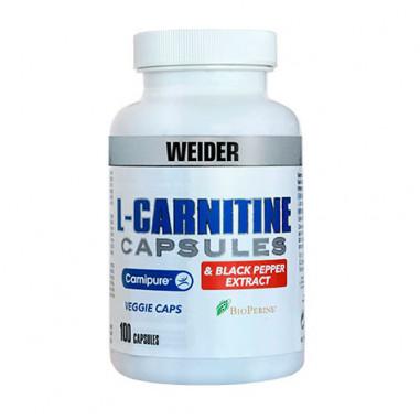 L-Carnitine + Extracto de Pimienta Negra Weider 100 Cápsulas