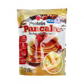 Protein Pancakes Vanilla flavor Quamtrax 1kg