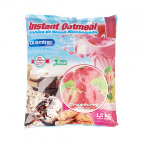 Quamtrax Strawberry Flavored Oatmeal 1.2Kg