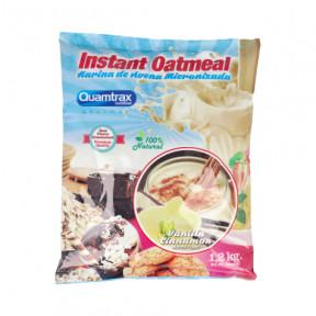 Flocons d'avoine aromatisés au vanille-cannelle Quamtrax 1,2 kg
