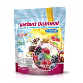 Quamtrax Wild Fruits Flavored Oatmeal 2Kg