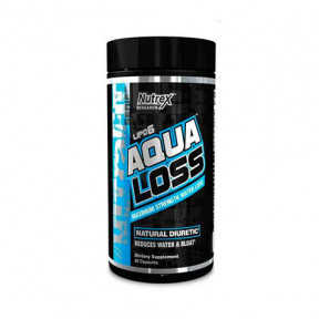 Lipo 6 Aqua Loss 80 Cápsulas Nutrex Research