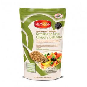 Linwoods Sementes Orgânicas Moídas, Girassol e Abóbora 200 g