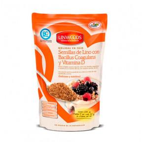 Semillas de Lino con Bacillus Coagulans y Vitamina D Molidas en Frío Linwoods 200 g