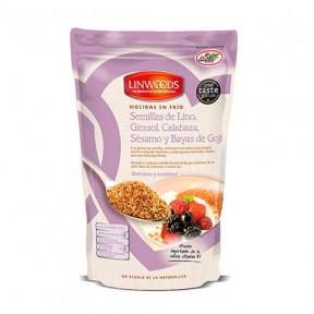Semillas de Lino, Girasol, Calabaza, Sésamo y Bayas de Goji Molidas en Frío Linwoods 425 g