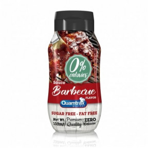 Quamtrax Gourmet Barbecue Sauce 0% calories 330ml