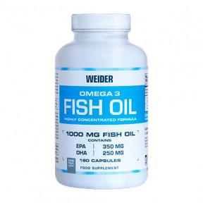 Suplemento alimentar Omega 3 Óleo de Peixe Weider 180 Cápsulas