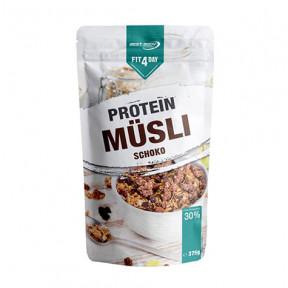 Céréales protéinées au Muesli au chocolat de Fit4Day 375g