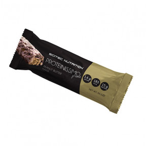 Tablette Low-Carb Proteinissimo Prime beurre d'arachide Scitec Nutrition 50g