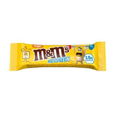 Mars M&M's Hi Protein Bar Cacahuète 51g