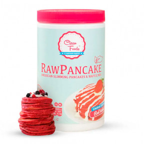 Prepared for Low-Carb Raw Pancakes Red Velvet Clean Foods flavor 425 g