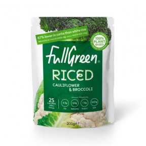 FullGreen Cauli Rice Cauliflower Rice with Broccoli 200g