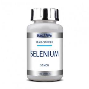 Selenium 50mcg Scitec Essentials 100 Capsules