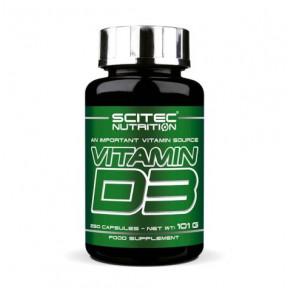 Vitamina D3 Scitec Essentials 250 cápsulas