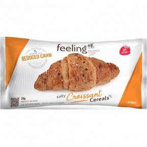 FeelingOk Salty Croissant with Cereals Optimize 1 unit 50 g