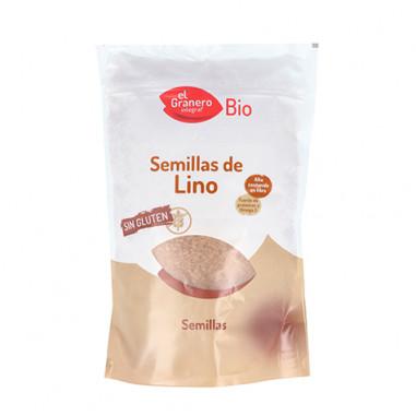 Semillas de Lino 500 g de Cultivo Ecológico