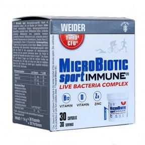 MicroBiotic Sport Immune por Weider 30 cápsulas