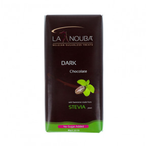 Tableta Low-Carb de Chocolate negro con Stevia LaNouba 85g