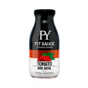 Salsa de Tomate con albahaca low-carb Pasta Young Fit Sauce 250g