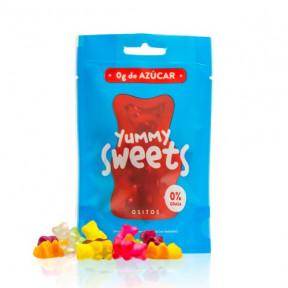 Doces sem açúcar Yummy Sweets Bears 50g