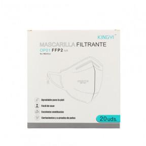 Mascarilla FFP2 norma EN149:2001 filtrado respiratorio marcado CE