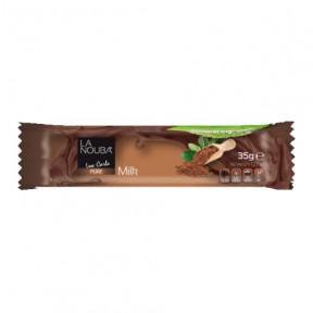 Chocolate com leite baixo teor de carboidratos LaNouba 35 g