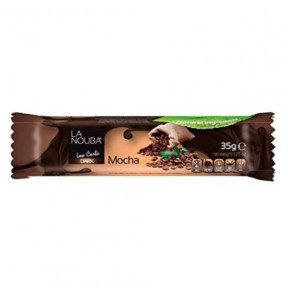 Chocolatina Low-Carb de Chocolate negro con moka LaNouba 35 g